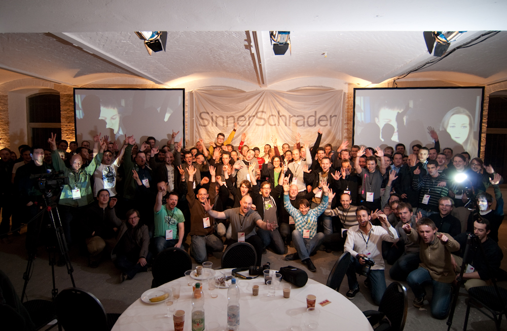 """Photo de famille JSConf.EU 2009"""